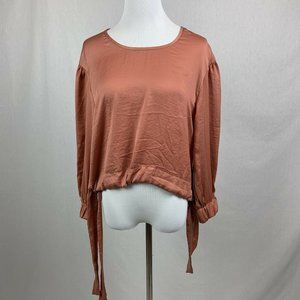 Band of Gypsies Tops - Band Of Gypsies Cant Help Falling In Love Tie Top